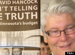 A Minnesota attack ad mistakenly featured a photo of Alberta MLA Dave Hancock. Oops!