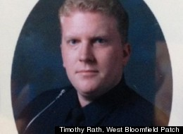 Patrick O'Rourke, a West Bloomfield, Mich. police officer, was shot and killed in the line of duty Sept., 9, 2012. On Monday morning, the suspected gunman had barricaded himself inside a house surrounded by police officers (Courtesy of Timothy Rath, West Bloomfield Patch)