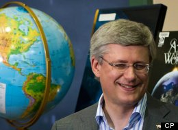 Prime Minister Stephen Harper will receive the 2012 World Statesman Award at the Appeal of Conscience Foundation annual awards dinner on September 27 at the Waldorf-Astoria in New York. (CP)