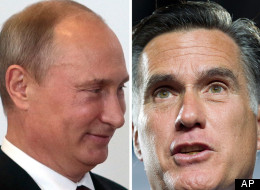 Russian President Vladimir Putin says a comment made by U.S. presidential candidate Mitt Romney have helped his country. (AP)