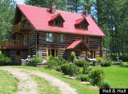 Tom Brokaw's $1.8M ranch. (Hall & Hall)