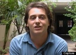 Capture de l'interview de Tristan Garcia