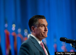 GOP presidential nominee Mitt Romney (Photo by David Calvert/Getty Images)