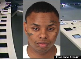 Police suspect Equonne Howard used his BMW to smash and rob an Apple store.