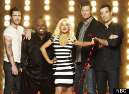 Usher and Shakira to replace Christina Aguilera and CeeLo Green for