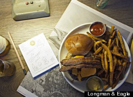 Longman & Eagle's juicy, bacon-topped offering was among our reader picks for the city's best burgers.