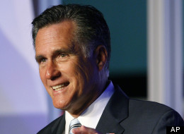 Republican presidential nominee Mitt Romney speaks to the Hispanic Chamber of Commerce on Sept. 17, 2012, in Los Angeles. (AP Photo/David McNew)