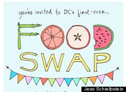 The inaugural DC Food Swap will be held Sunday, Sept. 23.