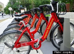 File Photo: Bike-sharing programs have been adopted in several cities across the country including Minneapolis, Denver and Washington D.C. (Flickr: zcopley)