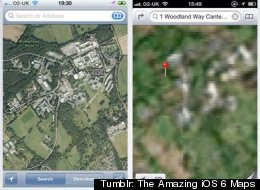 Tumblr: The Amazing iOS 6 Maps