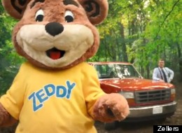 Zellers mascot Zeddy. (Photo: Zellers)
