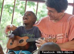 File photo. Mitch Albom's A Hole In The Roof Foundation is involved in a legal dispute over control and ownership of The Caring and Sharing Mission/Have Faith Haiti Mission orphanage in Port Au Prince. (Facebook: Mitch Albom)