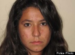 A police photo of Carly Rousso, the teen accused of striking and killing 5-year-old Jaclyn with her car.