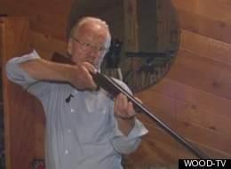 Dixon Smith, a 63-year-old man with stage 4 lymphoma, steady nerves and a double-barreled shotgun thwarted a break-in at his western Michigan home and convinced two suspects to surrender, police said.