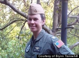 Brynn Tannehill, a trans woman, and former Navy Lt. Commander and pilot