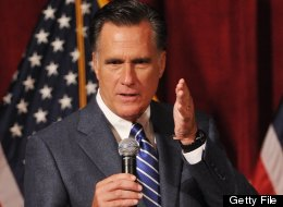 Republican presidential candidate Mitt Romney speaks at a fundraiser at the Grand Del Mar Court resort September 22, 2012 in San Diego, California. (MANDEL NGAN/AFP/GettyImages)