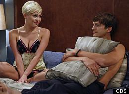 Miley Cyrus and Ashton Kutcher on