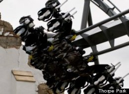Thorpe Park's 'The Swarm' ride is 'the ultimate hangover cure'