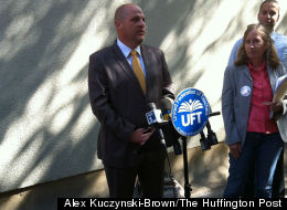 UFT President Michael Mulgrew says the number of New York public schools with overcrowded classrooms is increasing.