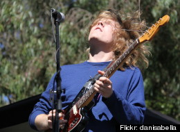 Ty Segall in concert.