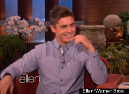 Zac Efron stops by