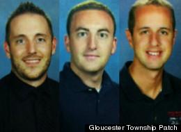 From left to right: Jeff Logandro, Nicholas Martinelli, Daniel Michielli