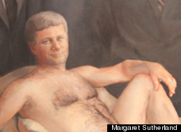 A human rights complaint filed by a citizen of Alberta, Curtis Stewart, aimed at a nude paiting of Stephen Harper titled