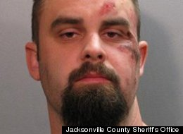 Matthew Hinson, of Jacksonville, Fla., was charged with murder in the throat slashing of William C.