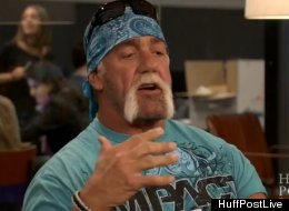 Hulk Hogan is leaning toward Mitt Romney.