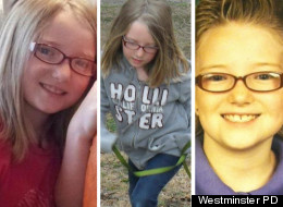 Photos of Jessica Ridgeway, released by Westminster Police Department.