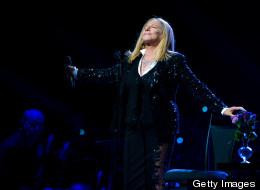 Barbra Streisand, not a fan of Mitt Romney. She does support Big Bird, however.