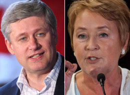 Their future meetings risk being a lot frostier, but Quebec Premier Pauline Marois said her first encounter with Stephen Harper as ''excellent.'' (CP)