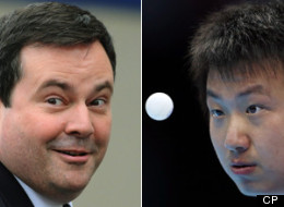 The Canadian Olympic Committee urged Immigration Minister Jason Kenney's office to fast-track the Canadian citizenship of a Chinese-born table tennis star, Eugene Wang, in time for him to compete for Canada at the summer Games, a newly released document shows. (CP)