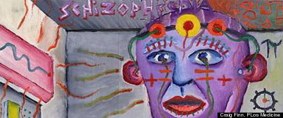 Mentally Insane People Art Creativity tied to mental