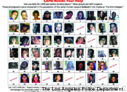 The LAPD has posted photographs to Facebook and Twitter that were found in possession of