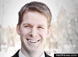 Iowa state Senate candidate Matt Reisetter