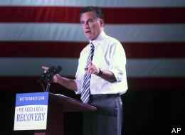 Republican presidential nominee Mitt Romney.