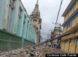 El huracán Sandy salió en las primeras horas de la mañana de Cuba, causando la muerte de una persona.