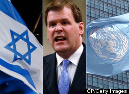 A United Nations special investigator's latest criticism of Israel's conduct towards the Palestinians is part of a disturbing pattern, Foreign Affairs Minister John Baird charged Friday. (CP/Getty Images)