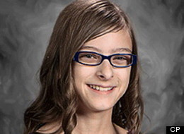 Megan Wolitski is shown in a photo release by her family on Saturday Oct. 27, 2012. The family of an Alberta girl who was killed when a minivan smashed into her classroom says she wanted to be a teacher, like her mother. (THE CANADIAN PRESS/HO)