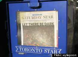 Following last week's launch of the Globe and Mail's paywall, and this summer's launch of paywalls at several Postmedia newspapers including the Vancouver Sun, the Province and the Ottawa Citizen, the Toronto Star announced Monday it too plans to charge readers. (Photo: wyliepoon via Flickr)