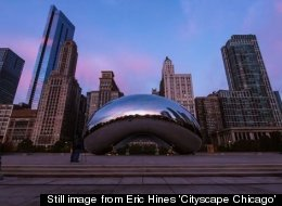 A still image from Eric Hines' 'Cityscape Chicago' (credit: Eric Hines)