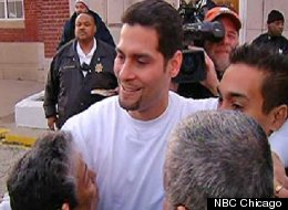 Juan Rivera Jr. filed a lawsuit Tuesday, Oct. 30 against Lake County law enforcement alleging he was framed in an overturned murder conviction that kept him behind bars for almost 20 years. (credit: NBC Chicago broadcast)