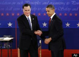 Barack Obama e Mitt Romney. In un discorso Romney ha detto che Obama porterà gli Usa a una situazione simile all'Italia