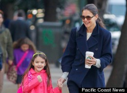 Katie Holmes and Suri Cruise were just two of the millions of people left without power after Hurricane Sandy.