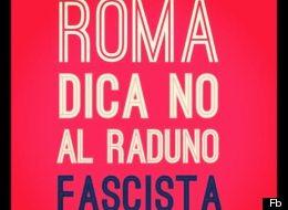 La locandina della pagina Fb contro il raduno neofascista