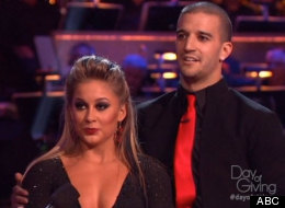 Shawn Johnson and Mark Ballas reunited on this week's