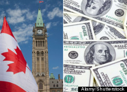 Canadian politicians watching the outcome of the U.S. presidential election came together across party lines Tuesday as they denounced the record $6 billion US spent in the bitterly divisive political race south of the border. (Alamy/Shutterstock)