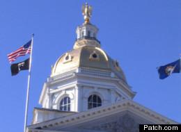 The New Hampshire capitol dome in Concord.