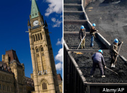 Canada's foreign worker program is being reviewed after concerns arose about Chinese coal miners being brought to B.C. to work. (Alamy/AP)